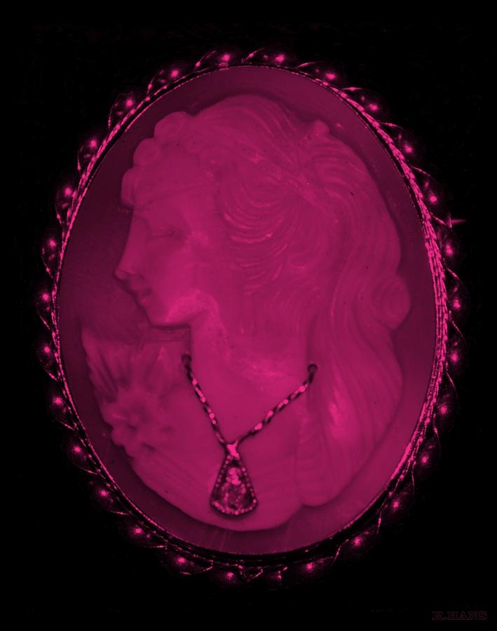 Cameo Photograph - Cameo In Hot Pink by Rob Hans