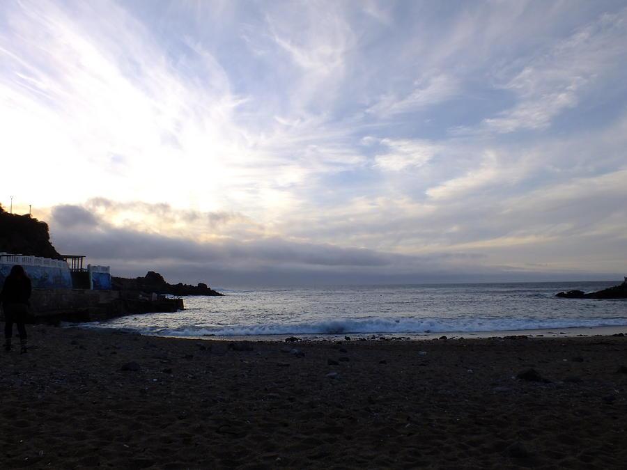 Atardecer Photograph - Caminos De Mar by Karin Cortez