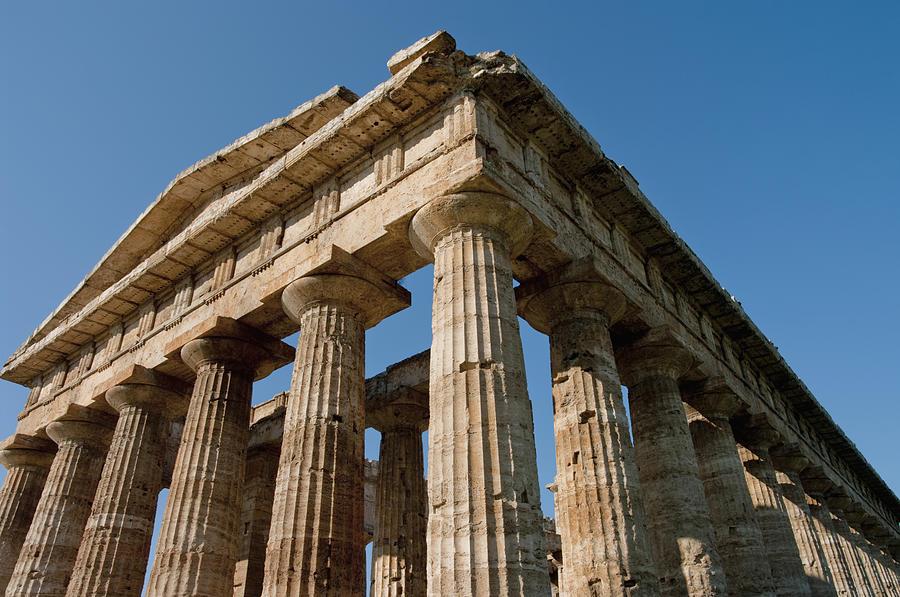 Campania Photograph - Campania Ruins by Axiom Photographic