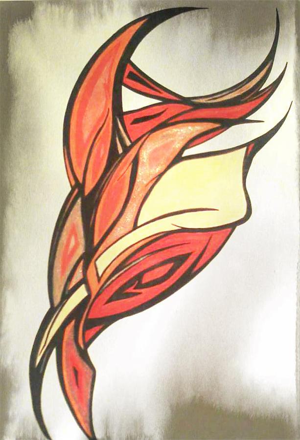 Campfire Drawing By Tara Francoise