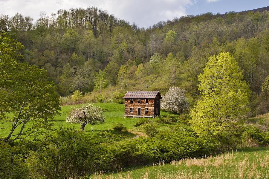Canaan Valley West Virginia Cabin Photograph By Bill Swindaman