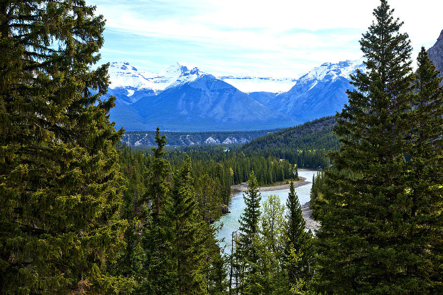 Canadian Rockies Photograph - Canadian Lake 1691 by Larry Roberson