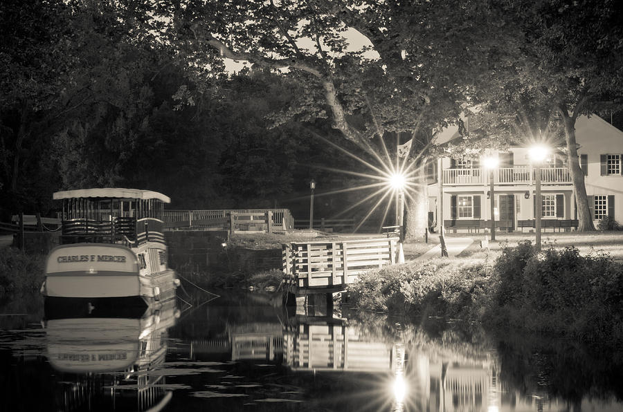 C&o Photograph - Canal Boat by Scott Faunce