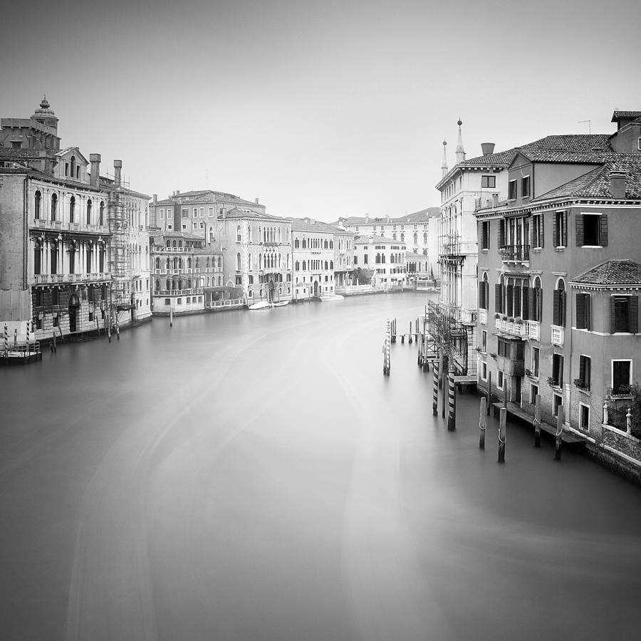 Venice Photograph - Canal Grande Study II by Nina Papiorek