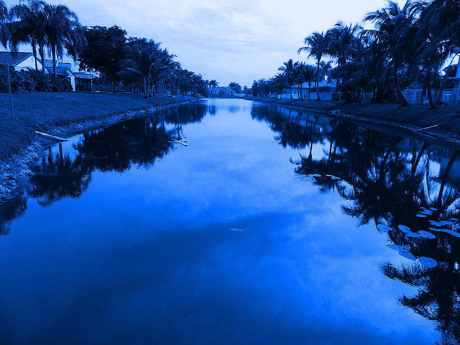 Landscape Photograph - Canal View by Val Oconnor