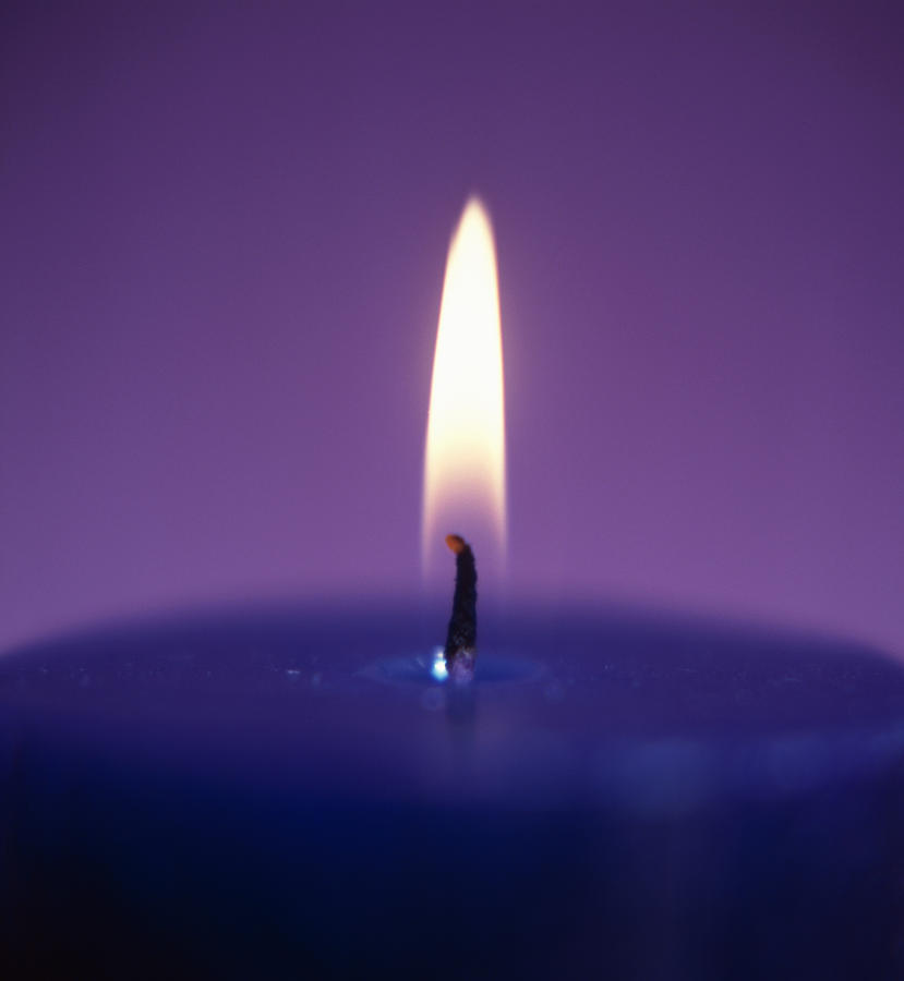 Candle Photograph - Candle Flame by Cristina Pedrazzini