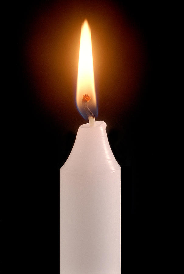 Candle flame photograph by victor de schwanberg for Candle painting medium