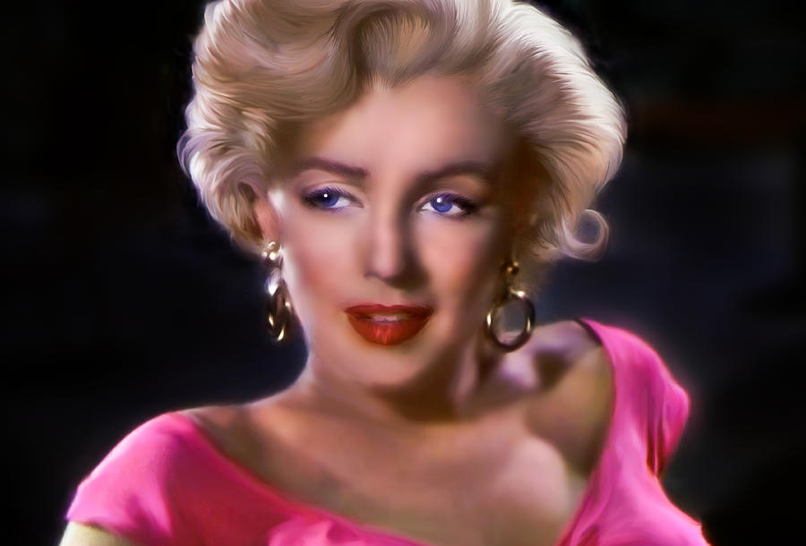 Marylin Monroe Digital Art - Candle In The Wind by Julie L Hoddinott