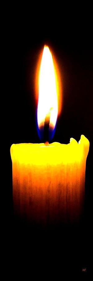 Candle Photograph - Candle Power by Will Borden