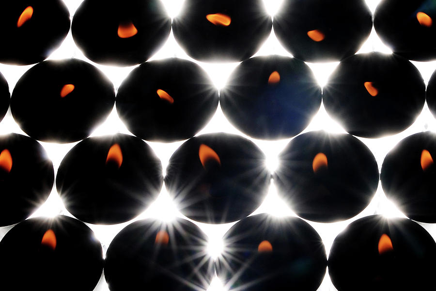 Candles Photograph - Candlelight Abstract by John Banegas