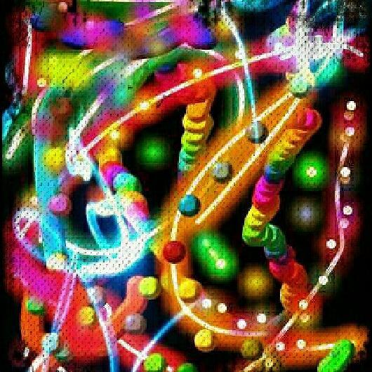 Bright Colors Digital Art - Candy Bomb by Denisse Del Mar Guevara
