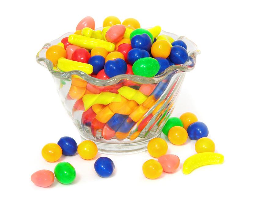 Candy Bowl Photograph