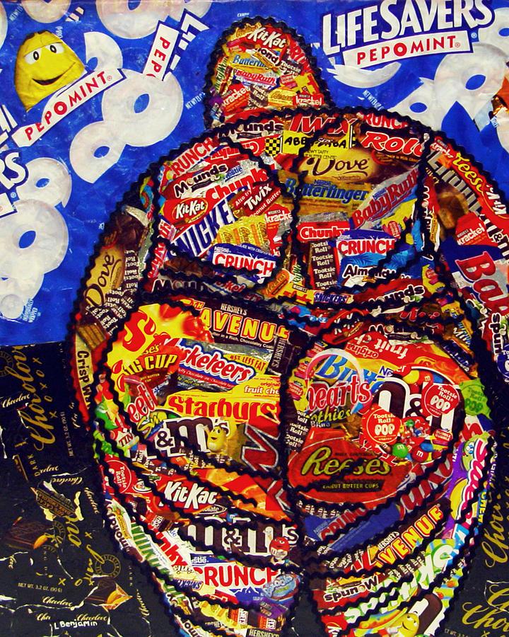 Laura Benjamin - Michael - Original - Part of Candy
