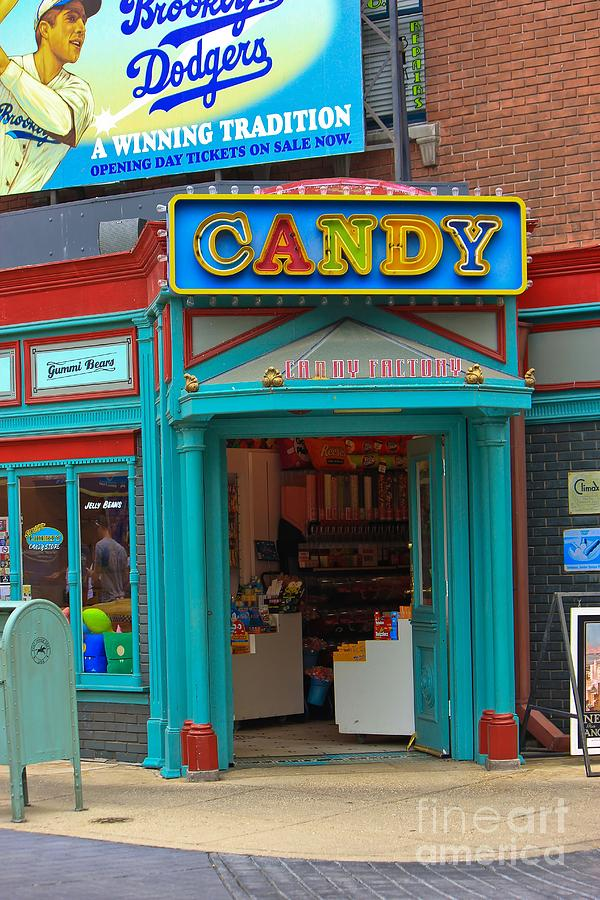 Candy Photograph - Candy Store by Sophie Vigneault