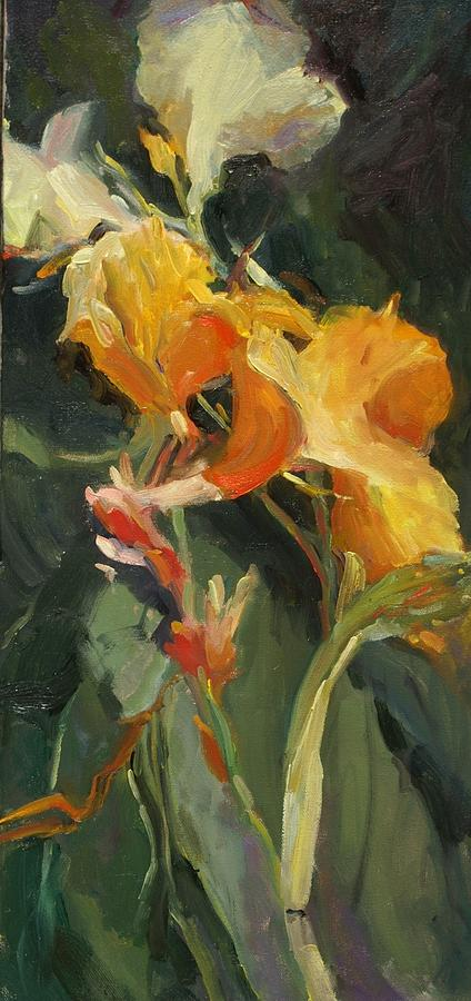 Canna Painting by Elizabeth Taft