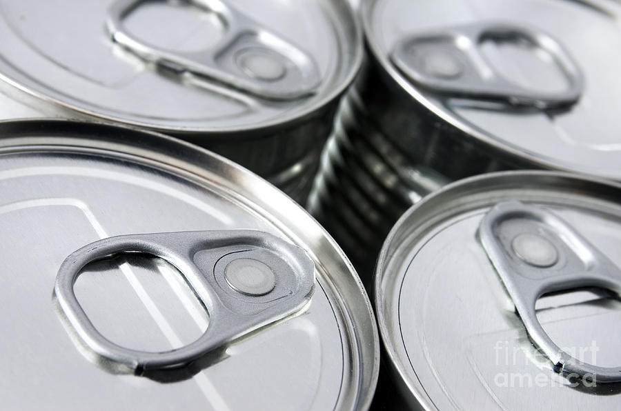 Airtight Photograph - Canned Food by Carlos Caetano