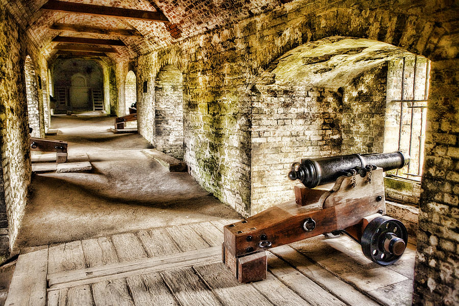 Dover Castle Photograph - Cannons Of Dover by Wendy White