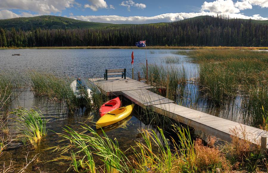 Canoe Photograph - Canoe Canada by Peter Olsen