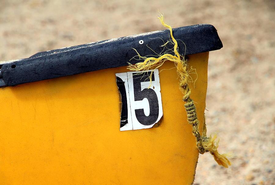 Canoe Photograph - Canoe Details by Valentino Visentini