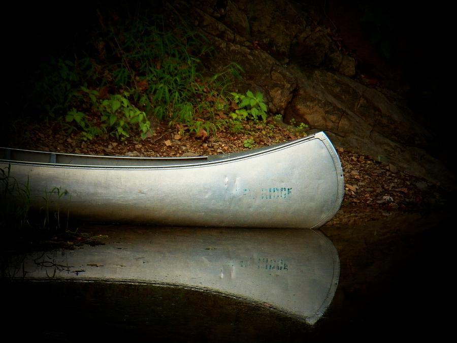 Boats Photograph - Canoe by Joyce Kimble Smith