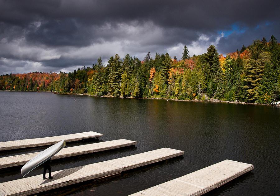 Canoe Photograph - Canoe Lake by Cale Best
