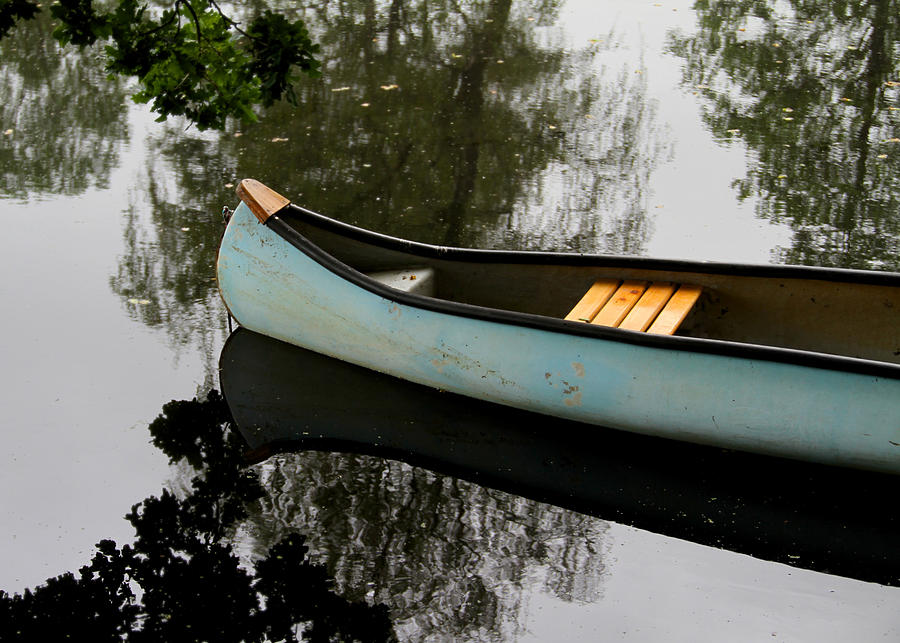 Canoe Photograph - Canoe by Odd Jeppesen