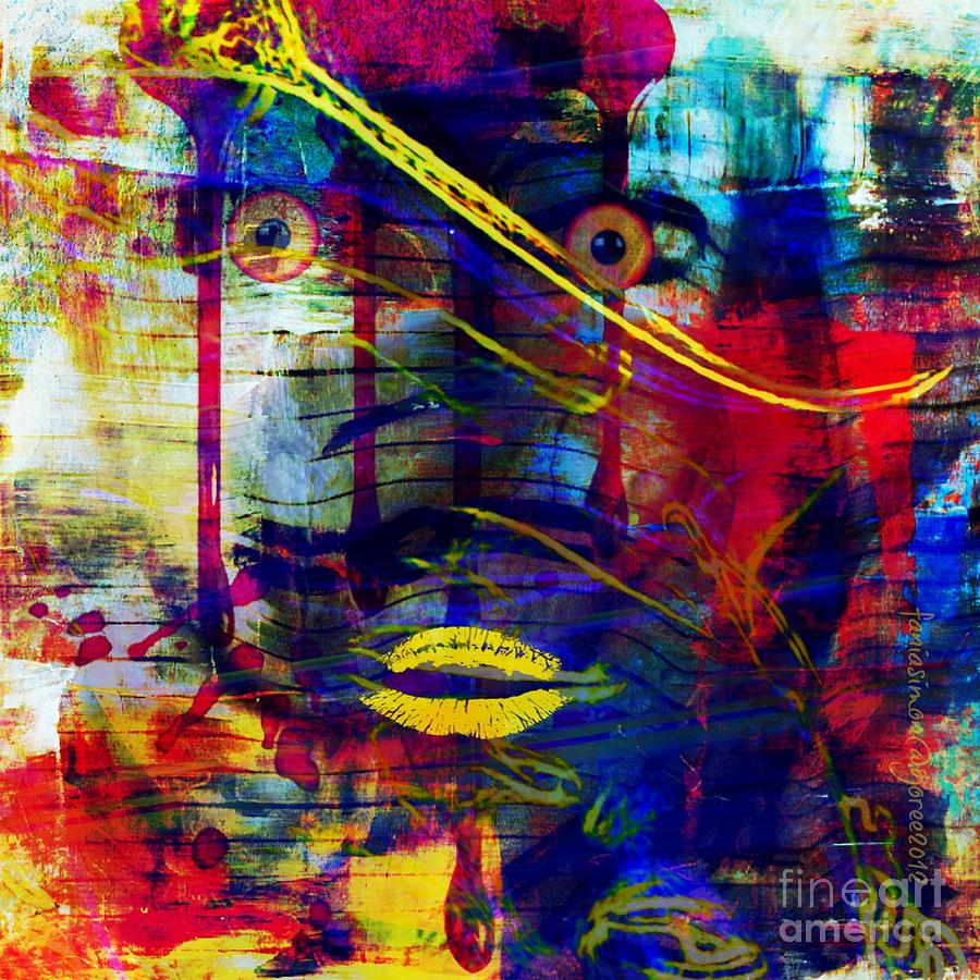 Cant Even Begin To Tell It Mixed Media by Fania Simon