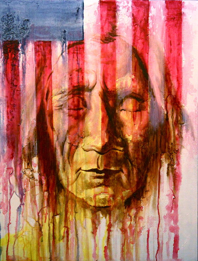 Native American Mixed Media - Cant Hide The Past by Jerry Frech
