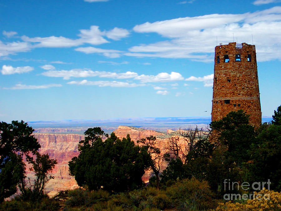 Post Card Photograph - Canyon Look Out by The Kepharts