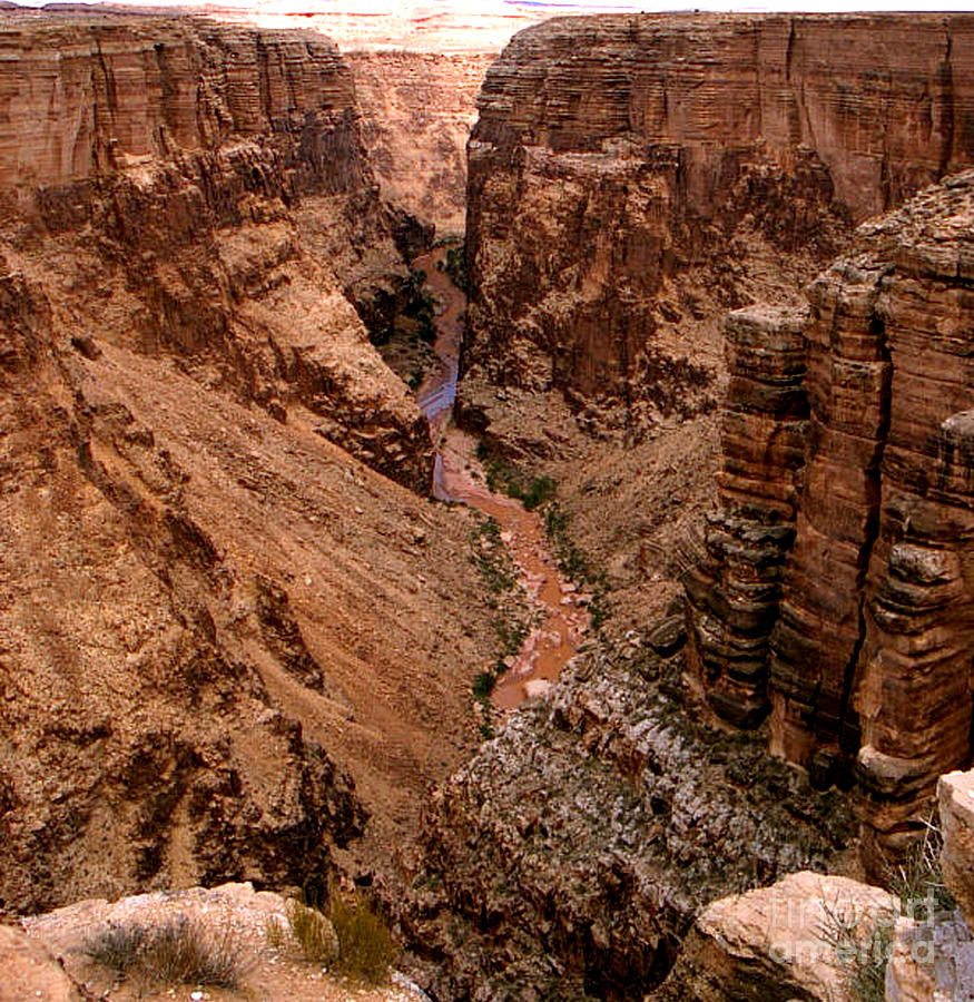 Canyon Photograph - Canyon Mountain by The Kepharts
