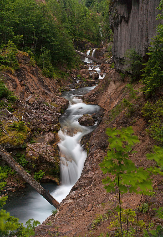 Southwest Photograph - Canyon Stream by Mike Reid