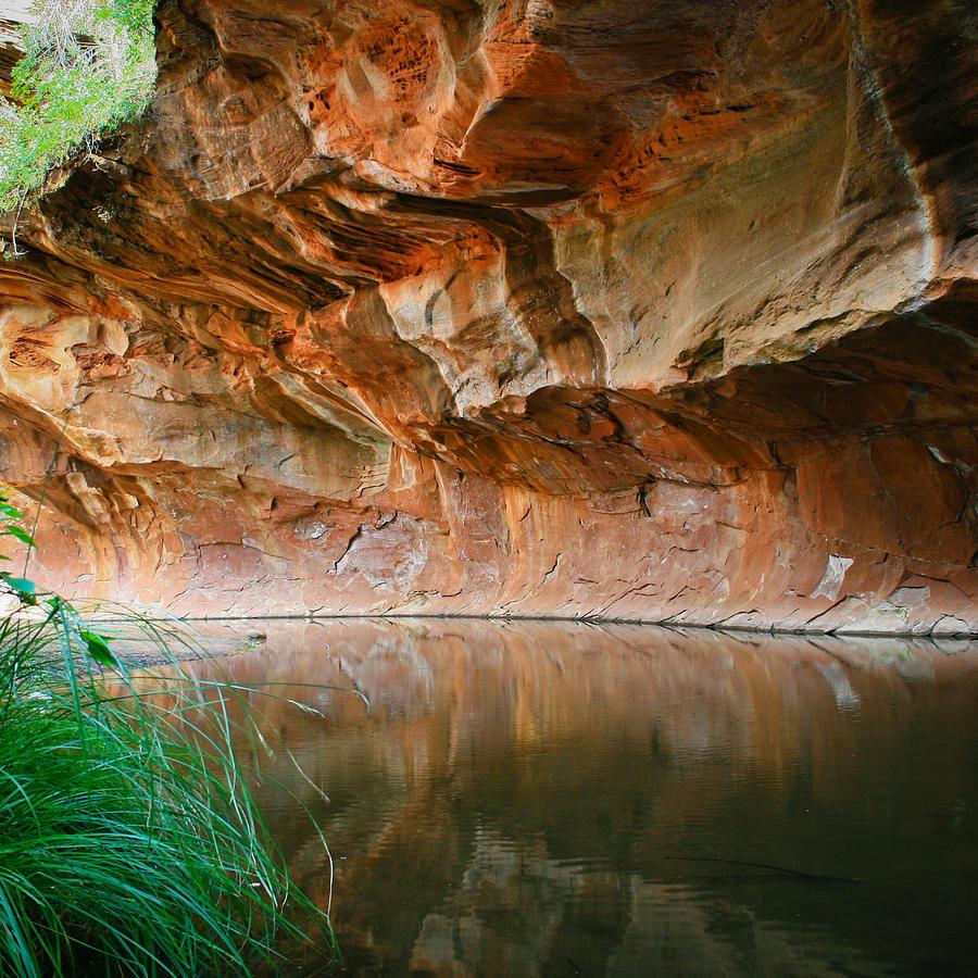Sedona Photograph - Canyon Wall by Cassandra Lemon