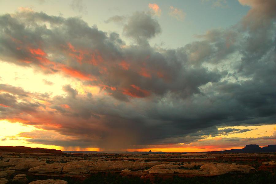 Sunset Photograph - Canyonlands Sunset by William Joseph