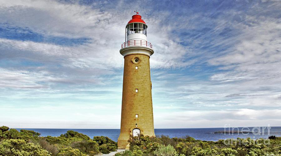 Cape Du Couedic Photograph - Cape du Couedic Light House by Stephen Mitchell