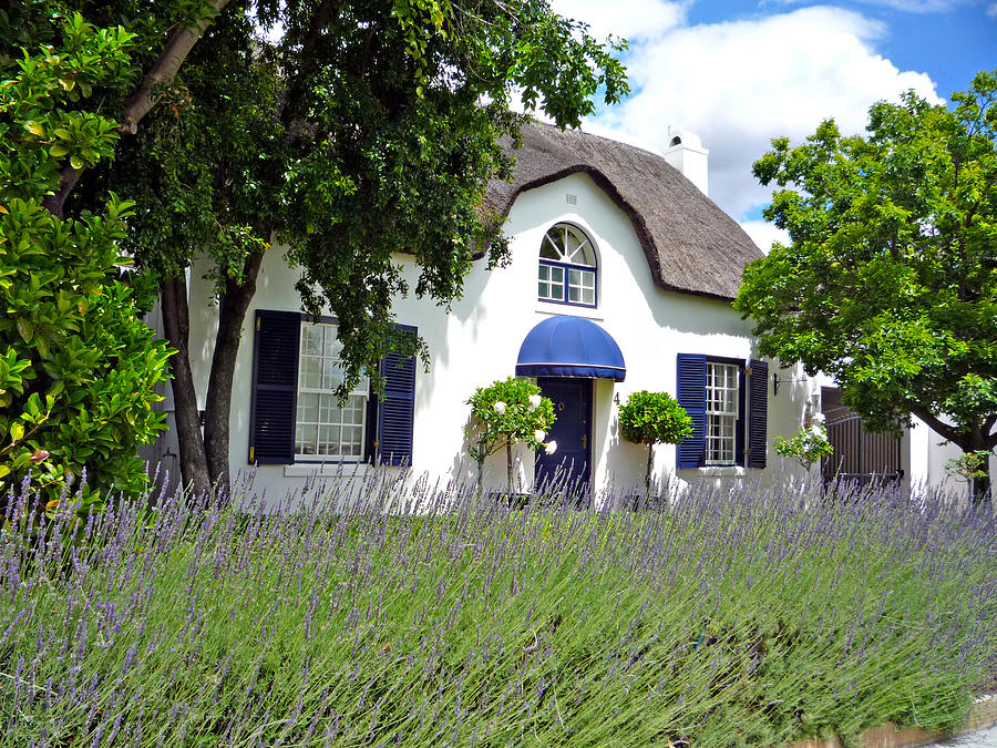 Africa Photograph - Cape Dutch Cottage by Paul Fell