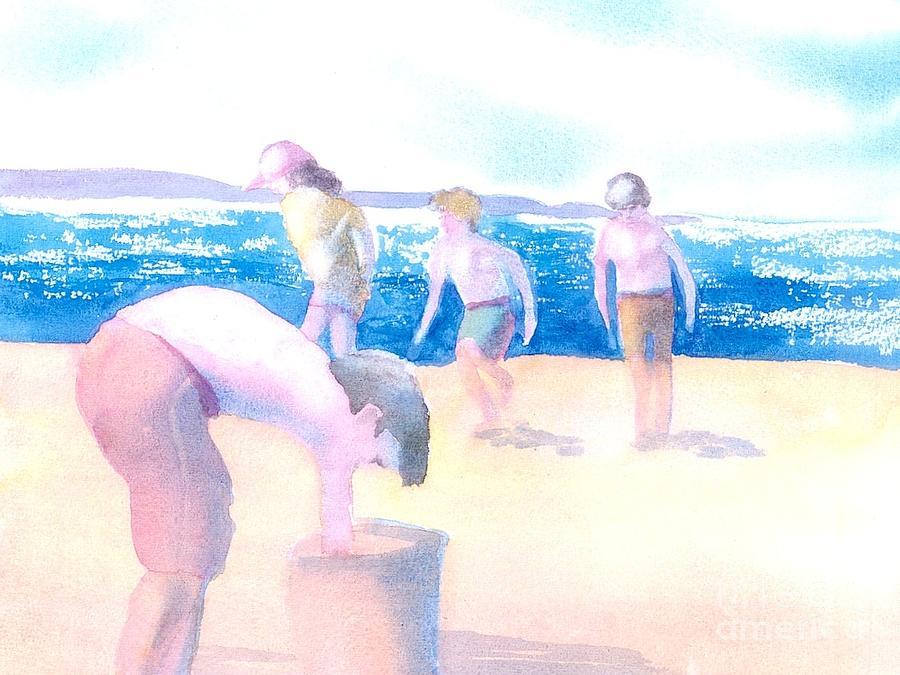 Kids Painting - Cape Explorers by Joseph Gallant