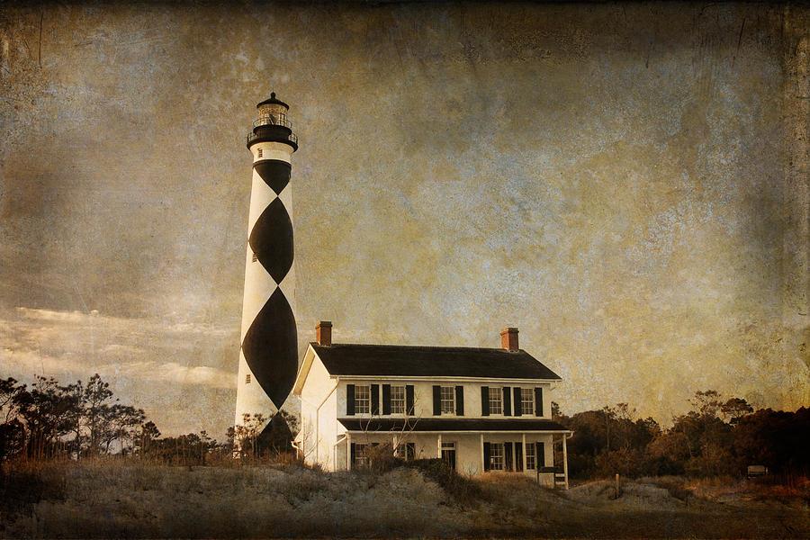 Lighthouse Photograph - Cape Lookout by Joye Ardyn Durham