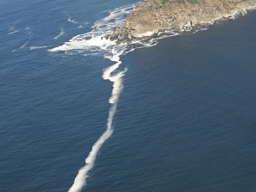 Cape Point The Dividing Point Photograph By Stacy Gold
