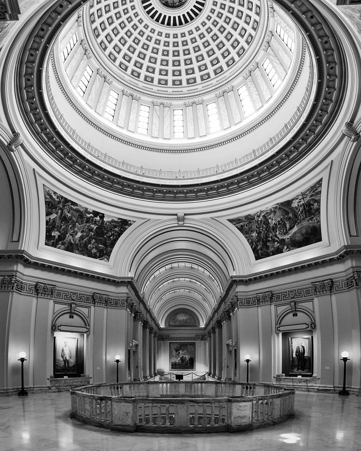 Administration Photograph - Capitol Interior by Ricky Barnard
