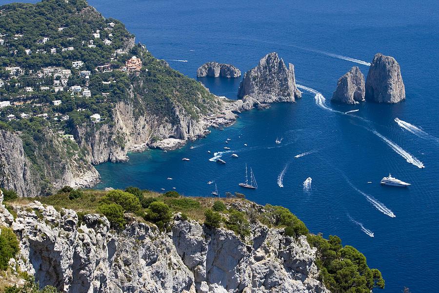 Capri Photograph - Capri by Francesco Riccardo  Iacomino