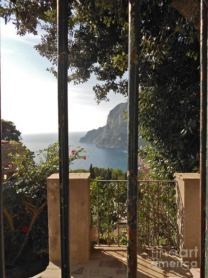 Angelica Dichiara Paintings Photograph - Capri by Italian Art