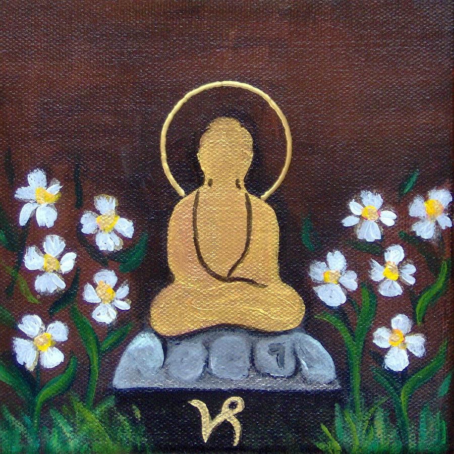 Capricorn Buddha by Clare Goodwin