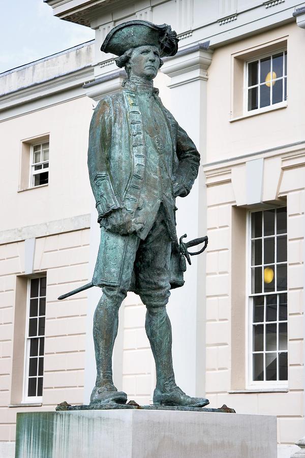 Captain James Cook Photograph - Captain James Cook, British Explorer by Sheila Terry