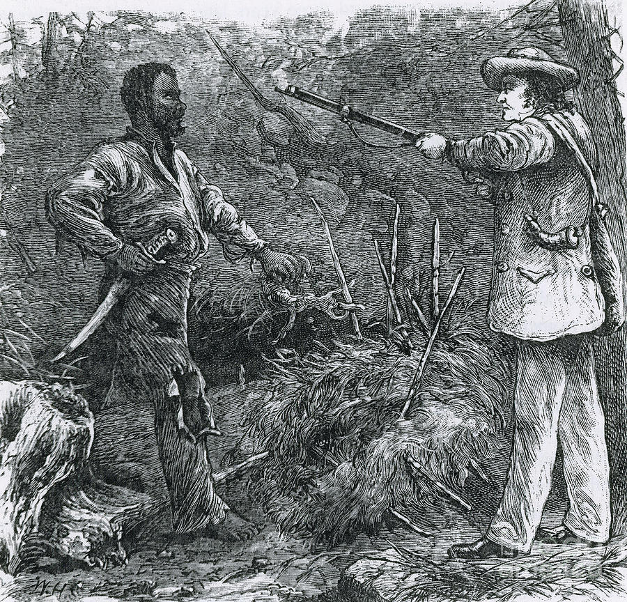 History Photograph - Capture Of Nat Turner, American Rebel by Photo Researchers