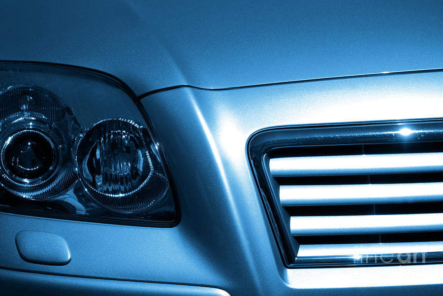 Acceleration Photograph - Car Face by Carlos Caetano