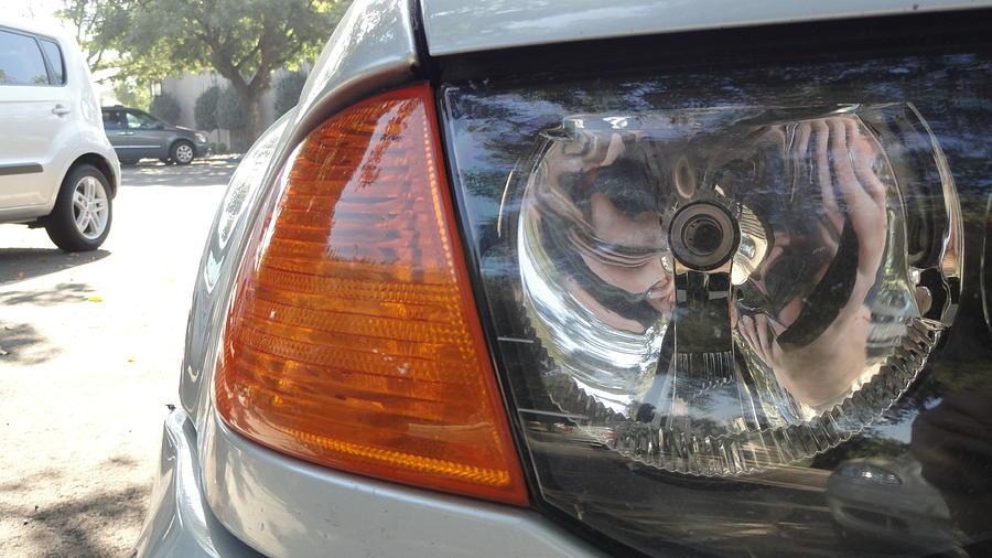 Car Lights 5 Photograph by Mark  Niermeyer