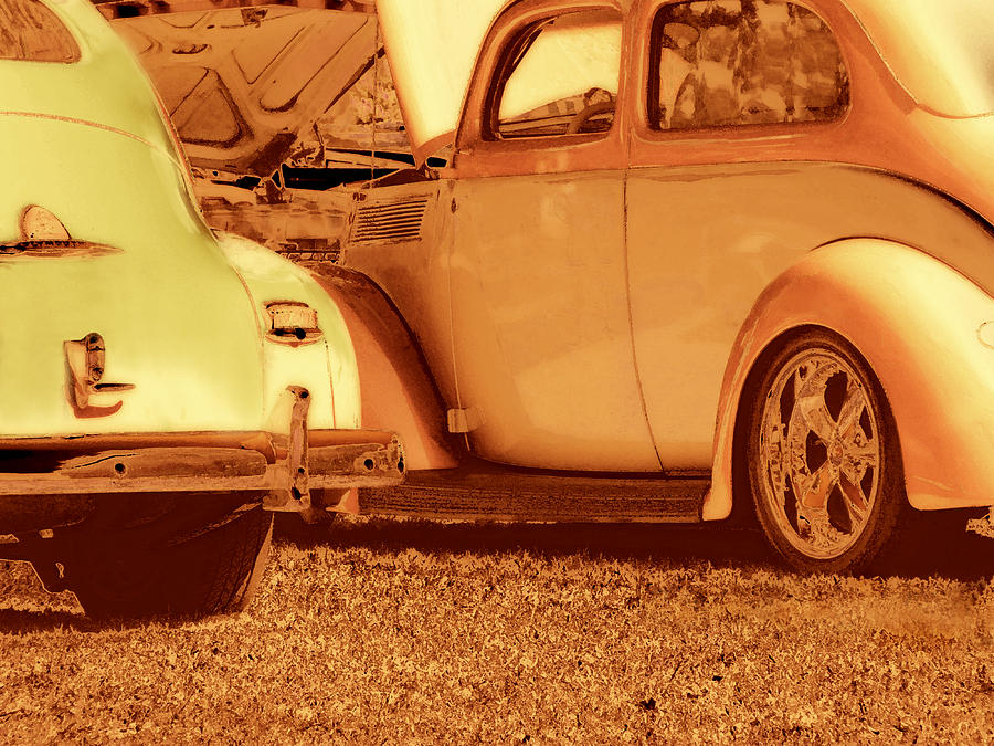Car Photograph - Car Show by Ann Powell