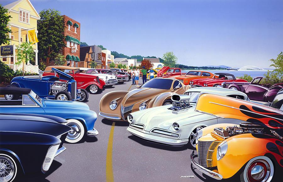 Custom Paint Car App
