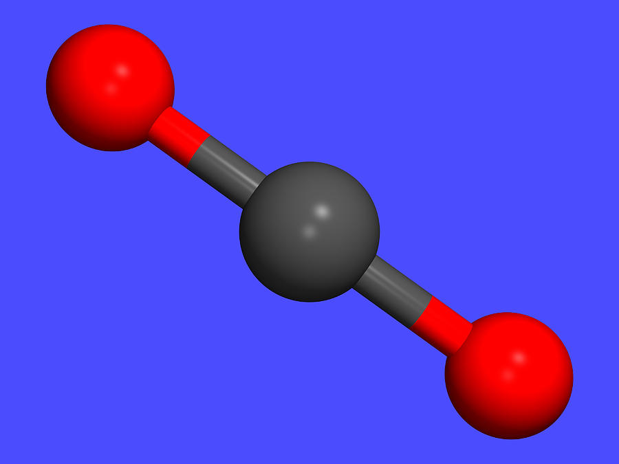 Carbon Dioxide Photograph - Carbon Dioxide by Dr Tim Evans