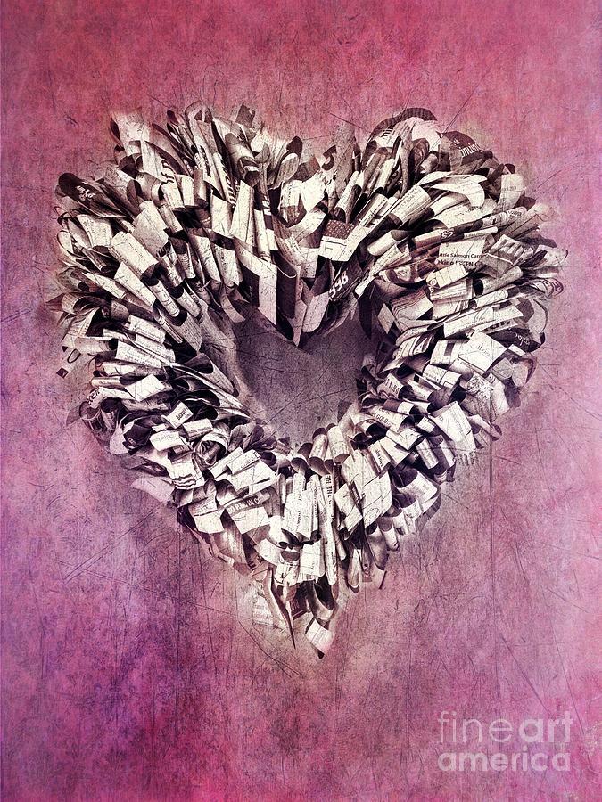 Heart Photograph - Cardia by Priska Wettstein